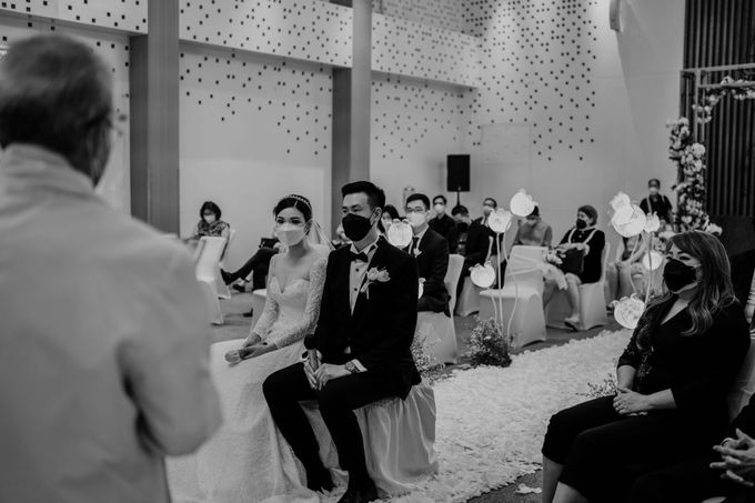 Hendra & Diana Wedding at Le Meridien Hotel Jakarta by AKSA Creative - 031