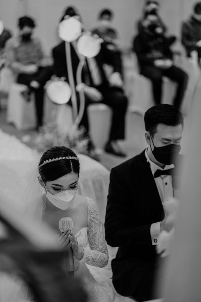 Hendra & Diana Wedding at Le Meridien Hotel Jakarta by AKSA Creative - 033