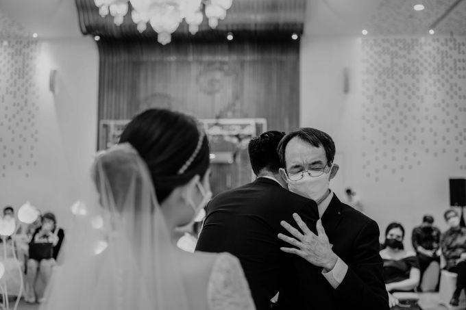 Hendra & Diana Wedding at Le Meridien Hotel Jakarta by AKSA Creative - 039