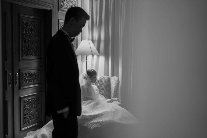 Hendra & Diana Wedding at Le Meridien Hotel Jakarta by AKSA Creative - 041