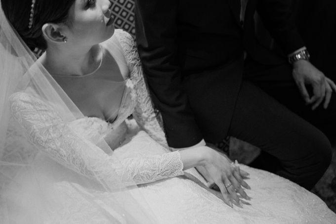 Hendra & Diana Wedding at Le Meridien Hotel Jakarta by AKSA Creative - 043