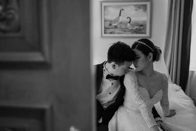 Hendra & Diana Wedding at Le Meridien Hotel Jakarta by AKSA Creative - 044