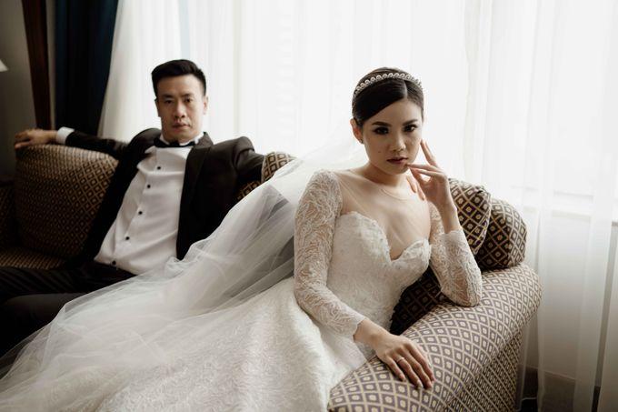 Hendra & Diana Wedding at Le Meridien Hotel Jakarta by AKSA Creative - 045