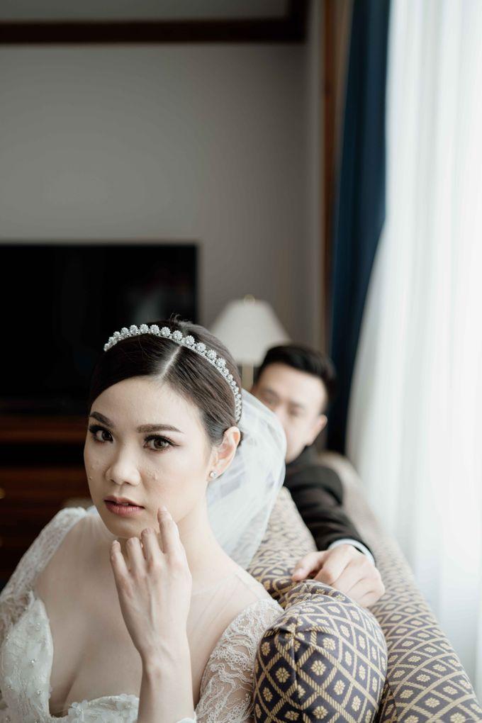 Hendra & Diana Wedding at Le Meridien Hotel Jakarta by AKSA Creative - 046