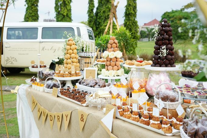 Wedding of Hendry & Audrey - Jardin Sweet Corner by Questo La Casa Pastry - 019