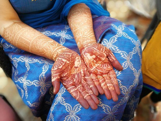 Henna Tatto by Roti Daal - Vegan & Vegetarian Indian Food - 004