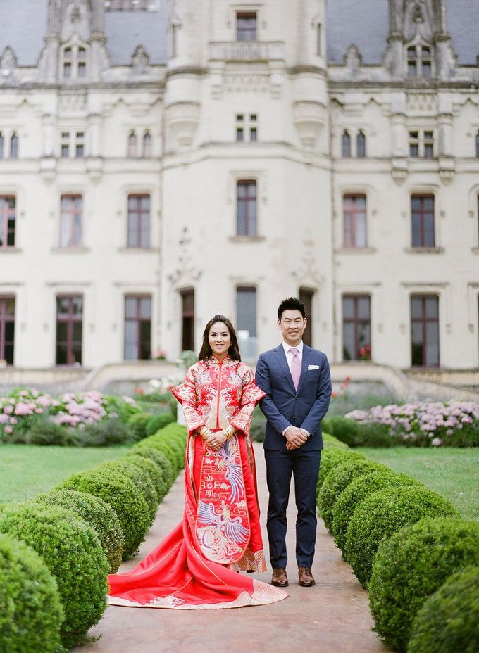 Henry & Caroline by Chateau Challain Events - 001