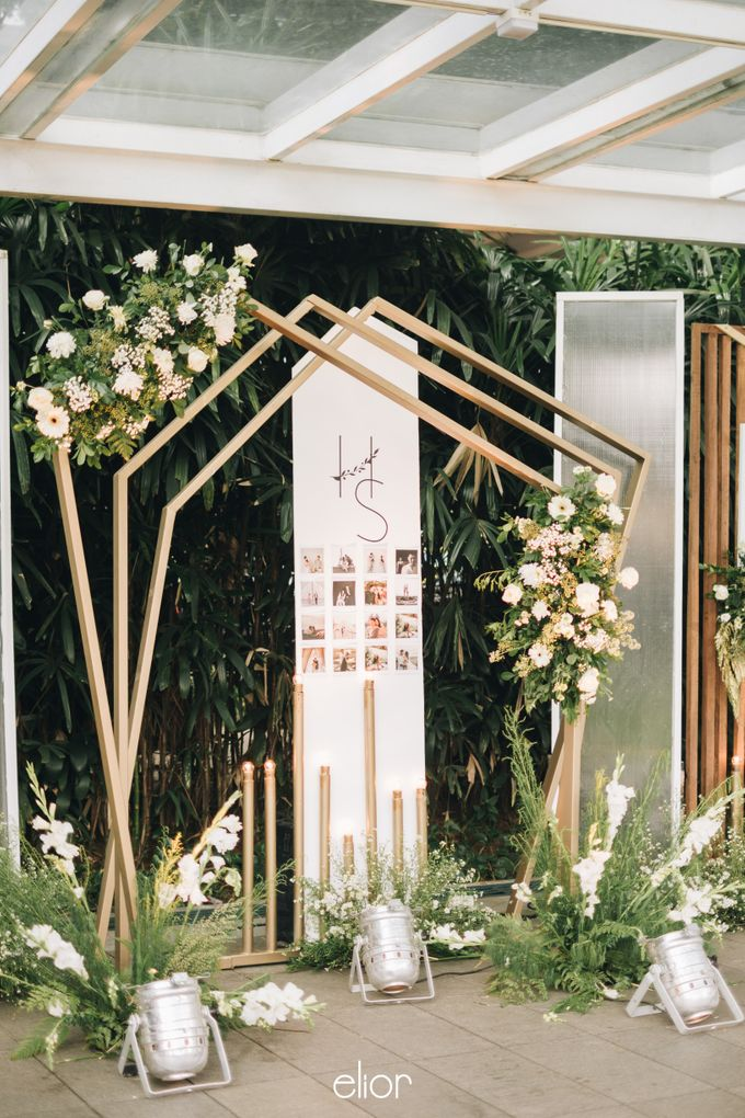 The Wedding of Henry and Stefanie by Elior Design - 018