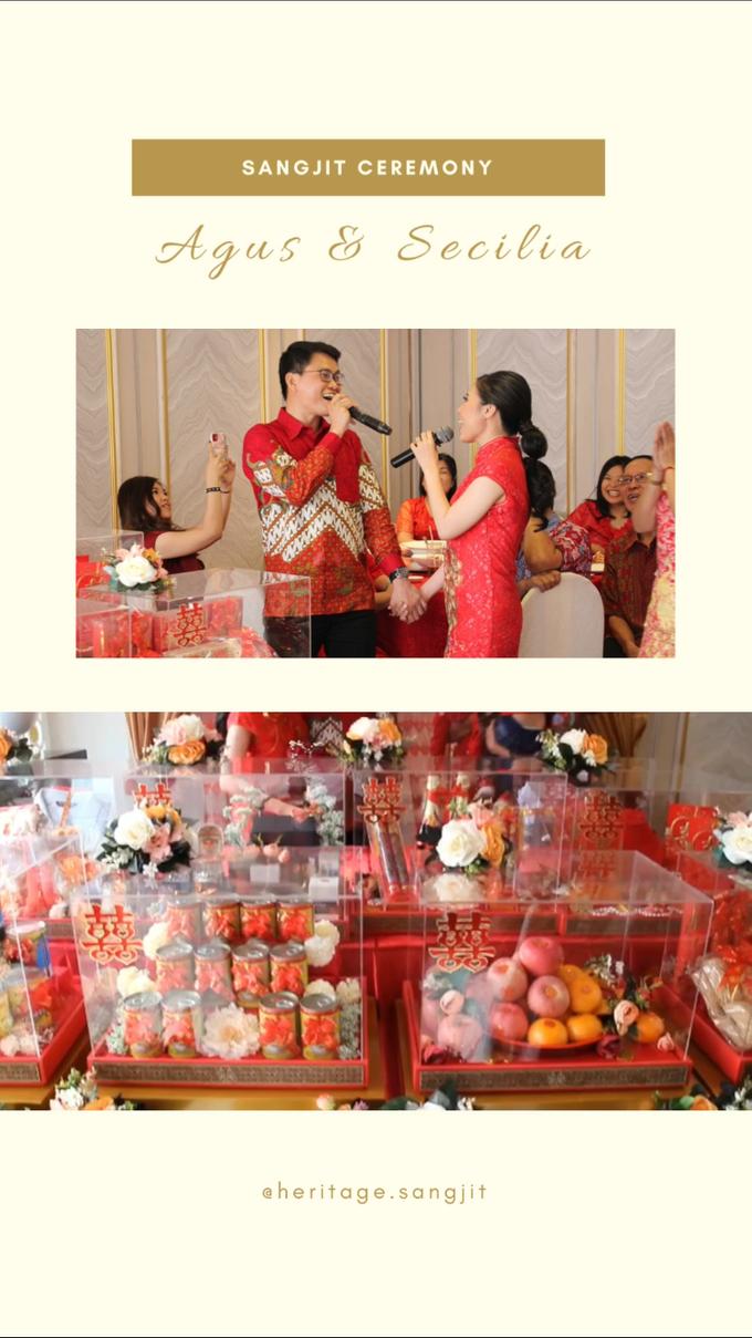 Sangjit Ceremony : Agus & Secilia by Heritage Sangjit - 009