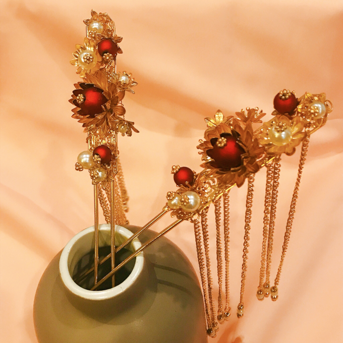 Hairpiece Collection by Heritage Sangjit - 003