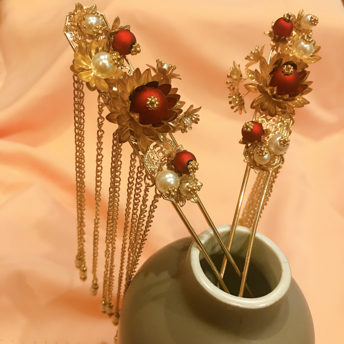 Hairpiece Collection by Heritage Sangjit - 004