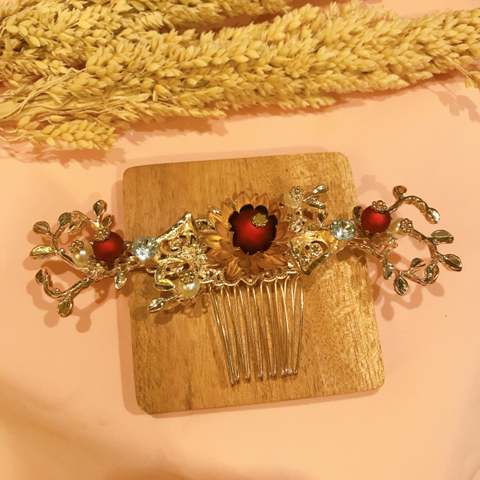 Hairpiece Collection by Heritage Sangjit - 008