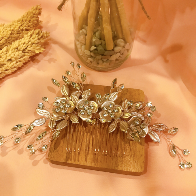 Hairpiece Collection by Heritage Sangjit - 009