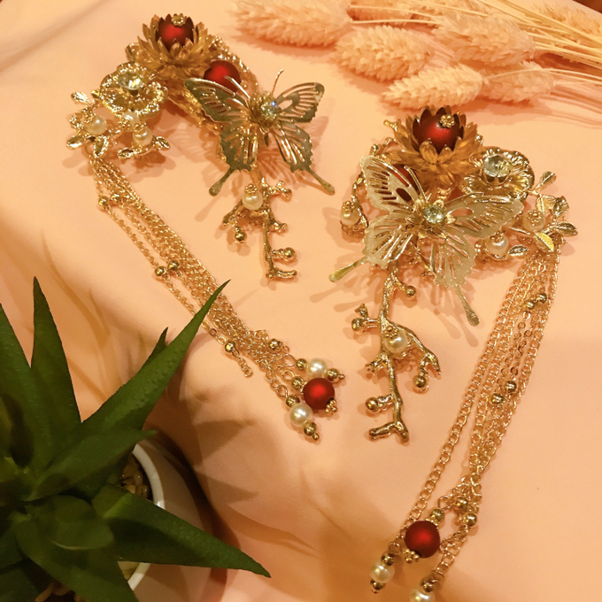 Hairpiece Collection by Heritage Sangjit - 011