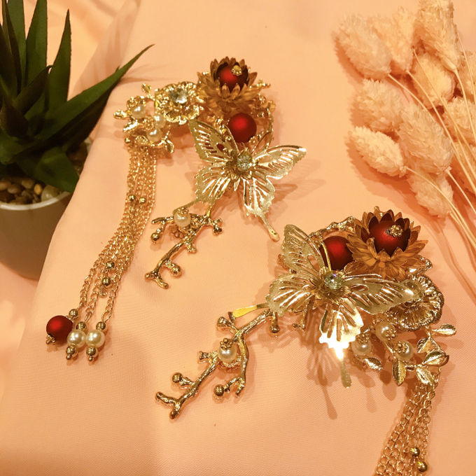 Hairpiece Collection by Heritage Sangjit - 012