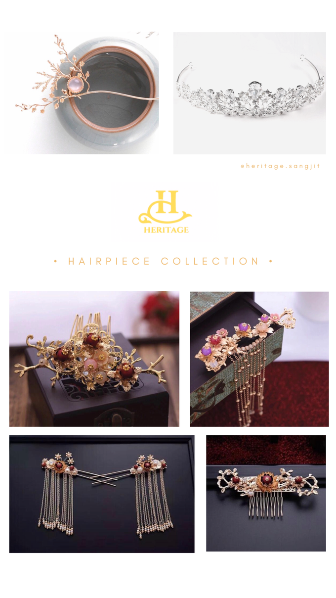 Hairpiece Collection by Heritage Sangjit - 013