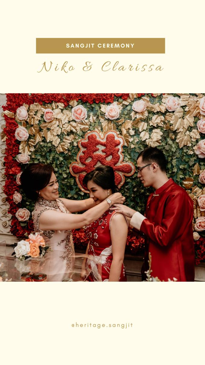 Sangjit Ceremony : Niko & Clarissa by Heritage Sangjit - 003
