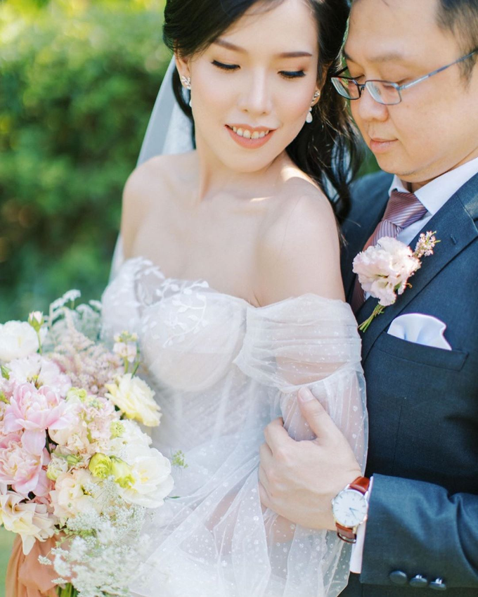 Blush Pink Open Space Wedding by FIVE Seasons WO - 027
