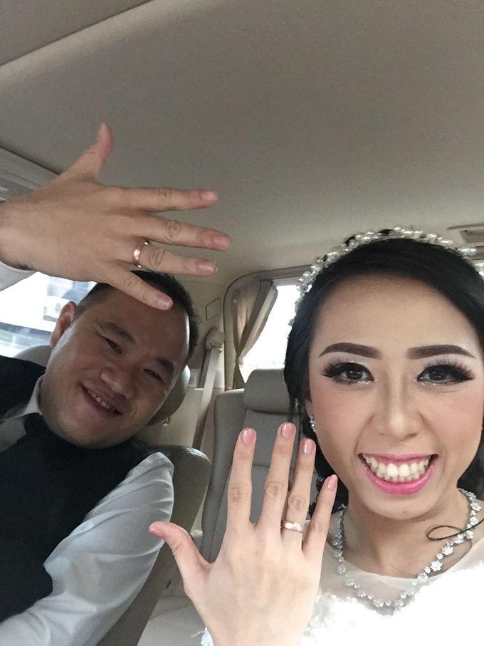 Herman & Charmel Wedding by sapphire wedding car - 001