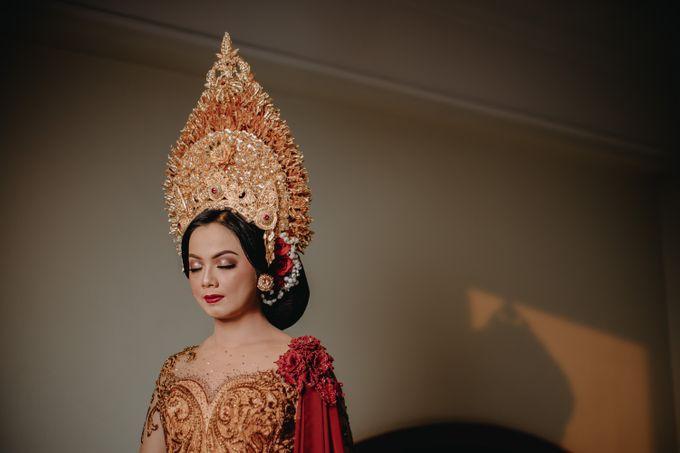 Balinese Wedding of Krishna & Bunga by Hexa Images - 027