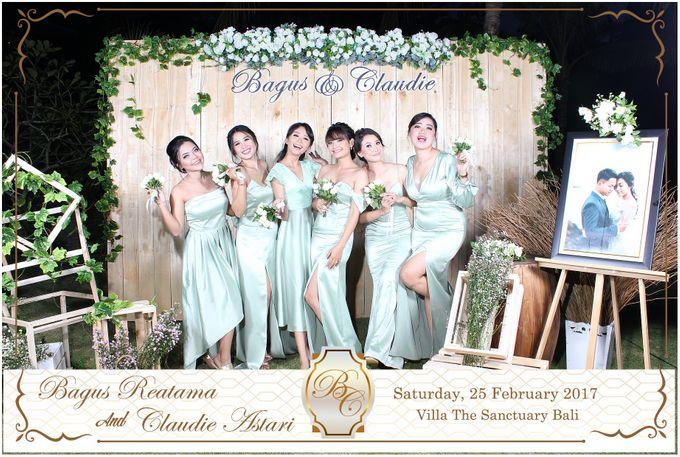 Bagus & Claudie Wedding Party by Dreamcatcher Photobooth Bali - 001