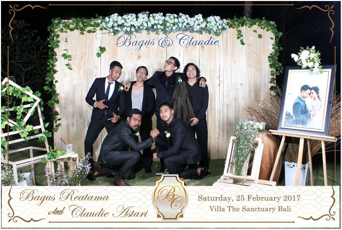 Bagus & Claudie Wedding Party by Dreamcatcher Photobooth Bali - 002