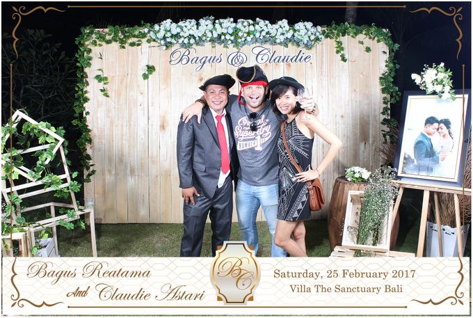 Bagus & Claudie Wedding Party by Dreamcatcher Photobooth Bali - 003