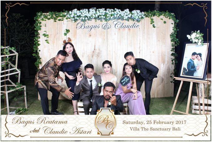 Bagus & Claudie Wedding Party by Dreamcatcher Photobooth Bali - 004