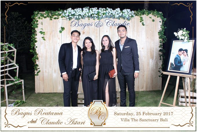 Bagus & Claudie Wedding Party by Dreamcatcher Photobooth Bali - 005