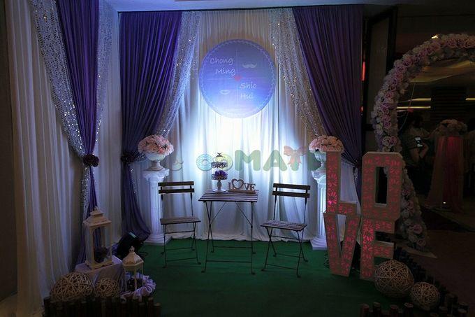 Hall wedding & Restaurant dinner by Glammories - 004