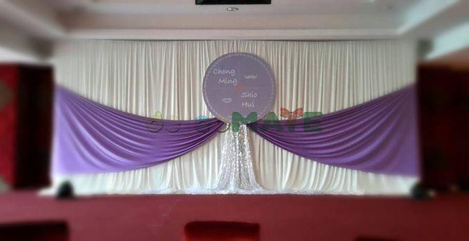Hall wedding & Restaurant dinner by Glammories - 005
