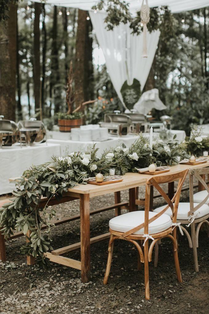 The Wedding of Alfred & Mega by Tea Rose Wedding Designer - 003