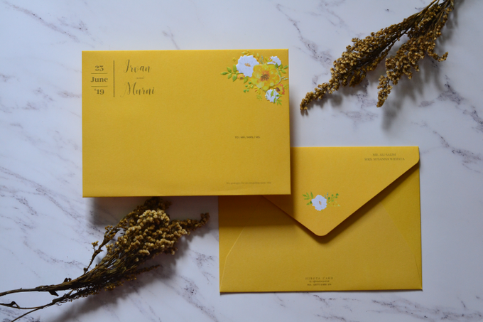 Murni & Irvan by Hirota Card - 003