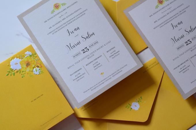 Murni & Irvan by Hirota Card - 004