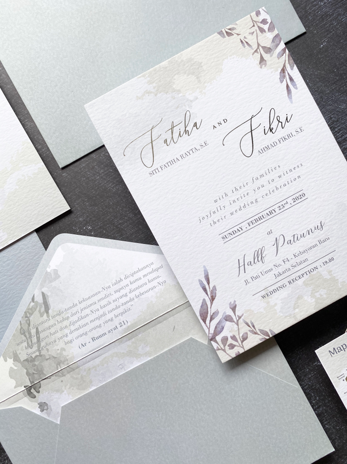 Fatiha & Fikri by Hirota Card - 002