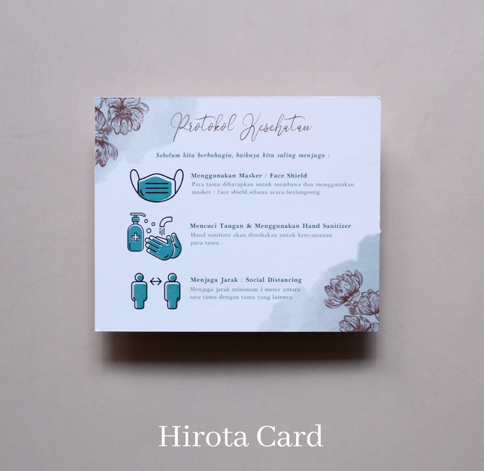Annisa & Akbar by Hirota Card - 001