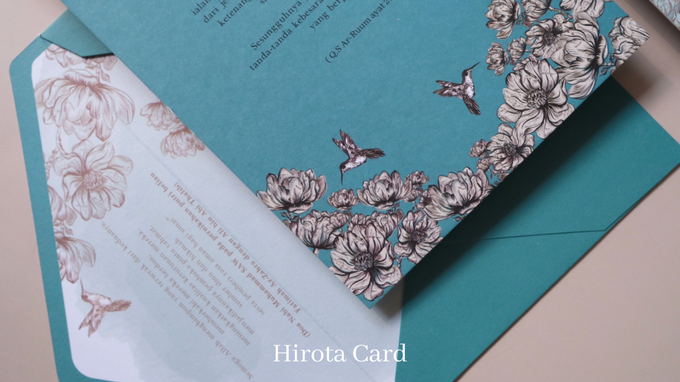 Annisa & Akbar by Hirota Card - 002