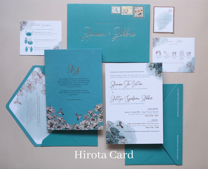 Annisa & Akbar by Hirota Card - 003