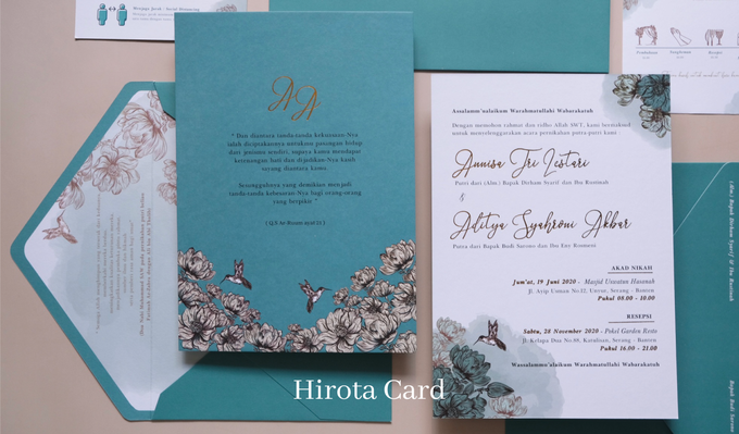 Annisa & Akbar by Hirota Card - 004
