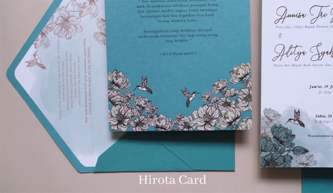 Annisa & Akbar by Hirota Card - 005