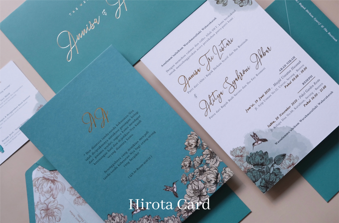 Annisa & Akbar by Hirota Card - 006