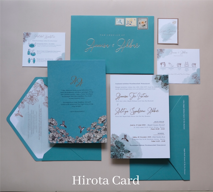 Annisa & Akbar by Hirota Card - 007