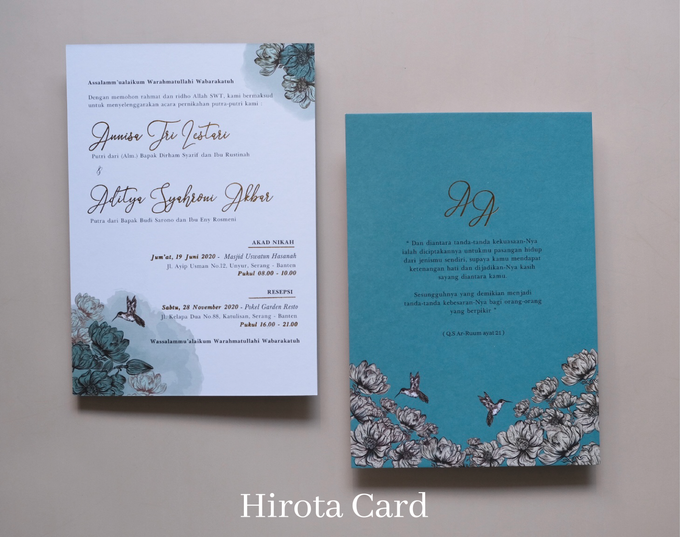 Annisa & Akbar by Hirota Card - 008