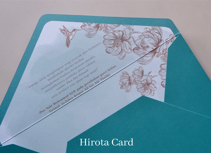 Annisa & Akbar by Hirota Card - 009