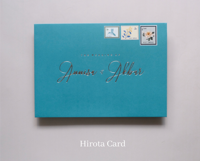 Annisa & Akbar by Hirota Card - 011