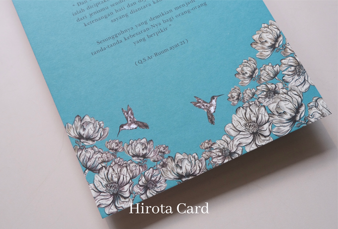 Annisa & Akbar by Hirota Card - 012