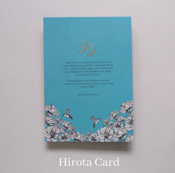 Annisa & Akbar by Hirota Card - 013