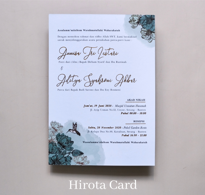 Annisa & Akbar by Hirota Card - 015