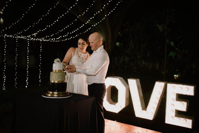 Greg & Mereana by Sugaria cake - 038