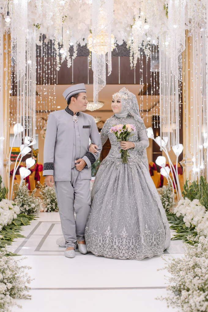 The Wedding of Machrus & Giska by Historia Wedding Planner - 018